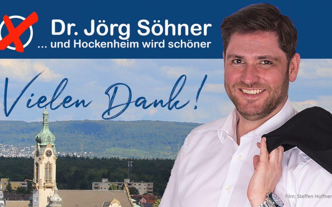 Dr. Jörg Söhner spricht Wahlempfehlung aus